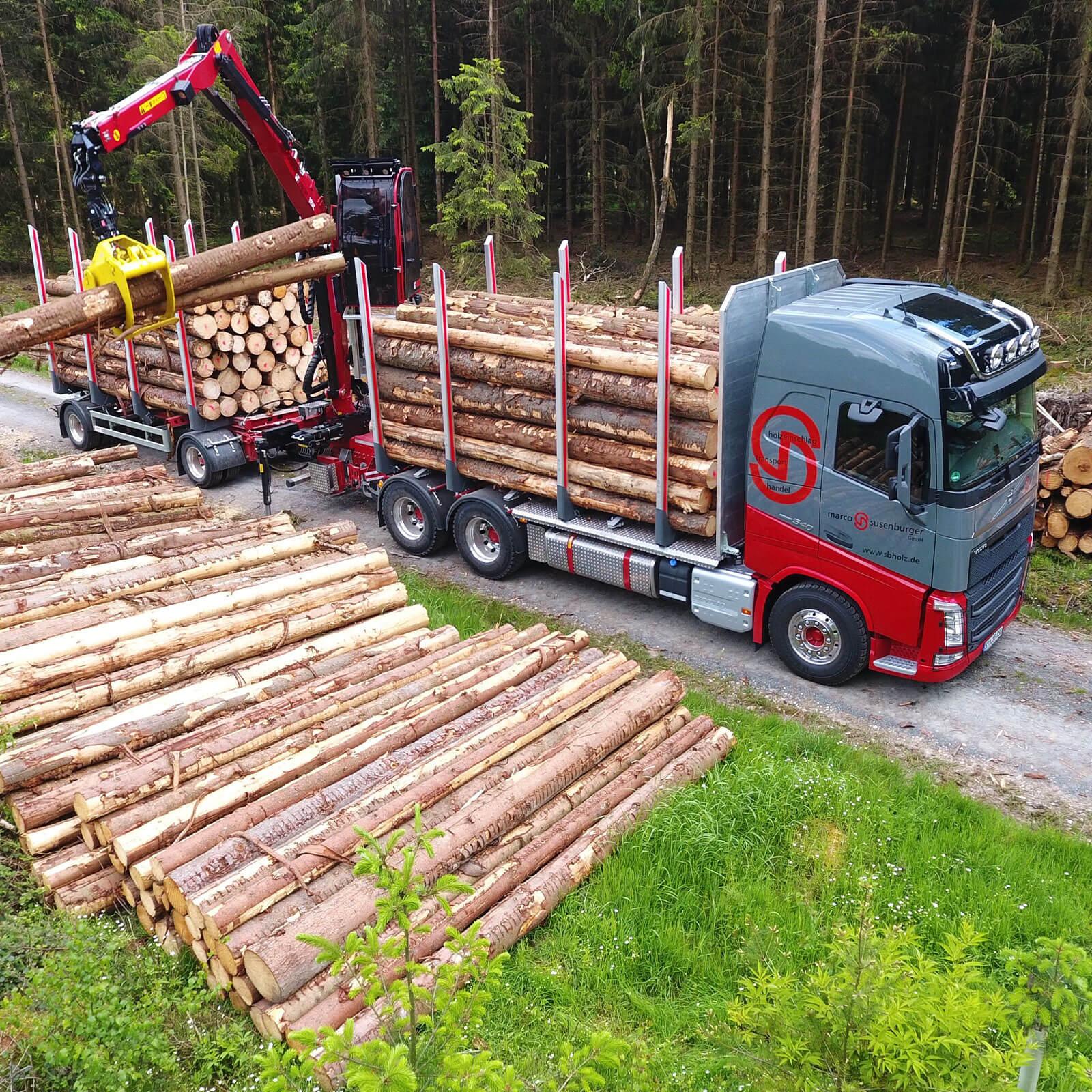 Susenburger Holztransport